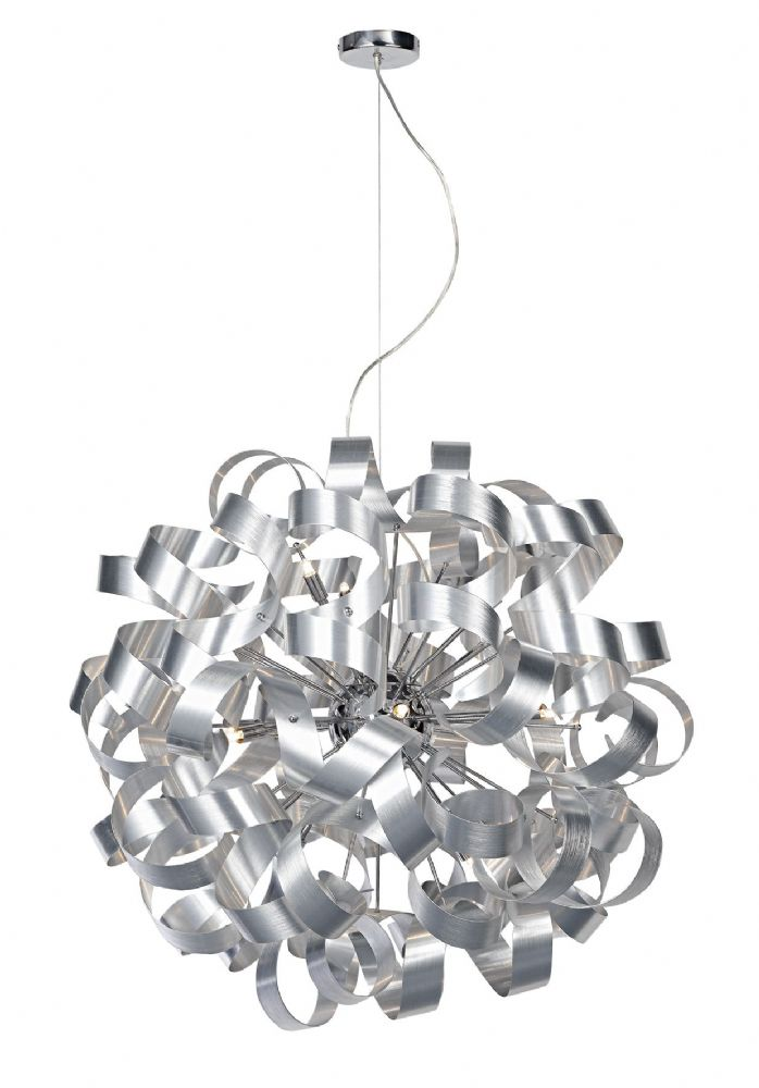 Rawley 12 Light Ribbon Pendant  (Class 2 Double Insulated) BXRAW1250-17